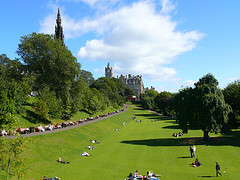 gardens edinburgh by saturn_es